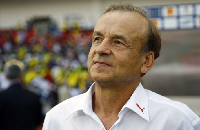 Eagles coach arrive in Gabon for AFCON