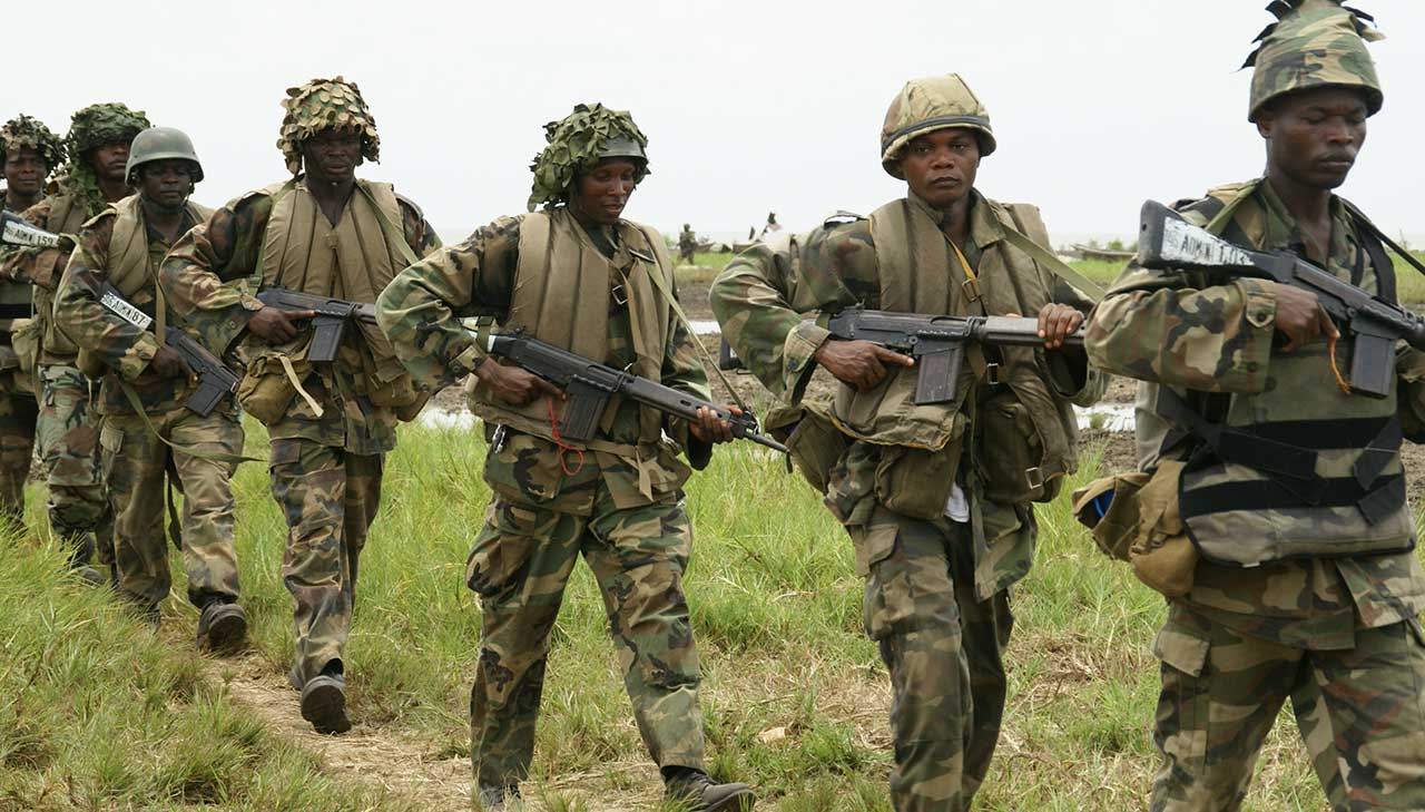 Nigerian troops arrest four terrorists in Borno