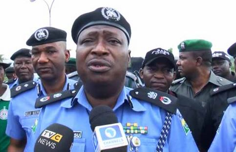 Ogun Police parade robbery suspects disguising as beggars