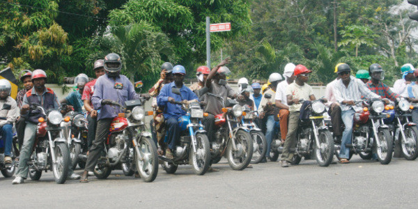 Ondo Govt gives ultimatum to motorcyclists over jacket wearing