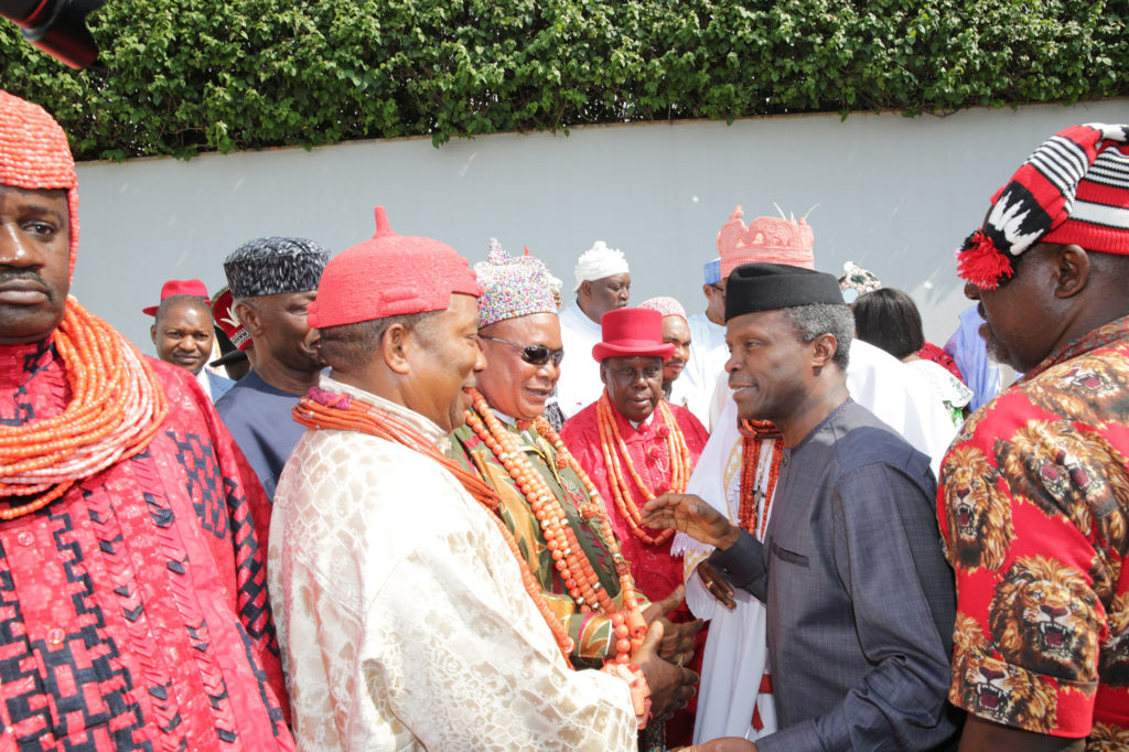 Key players review Osinbajo's visit to Niger Delta