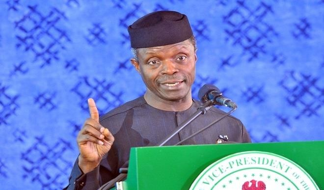 Osinbajo condemns agitations for secession, Kaduna declaration