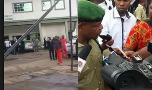 Many injured as gunmen storm court, whisk away suspect in Owerri