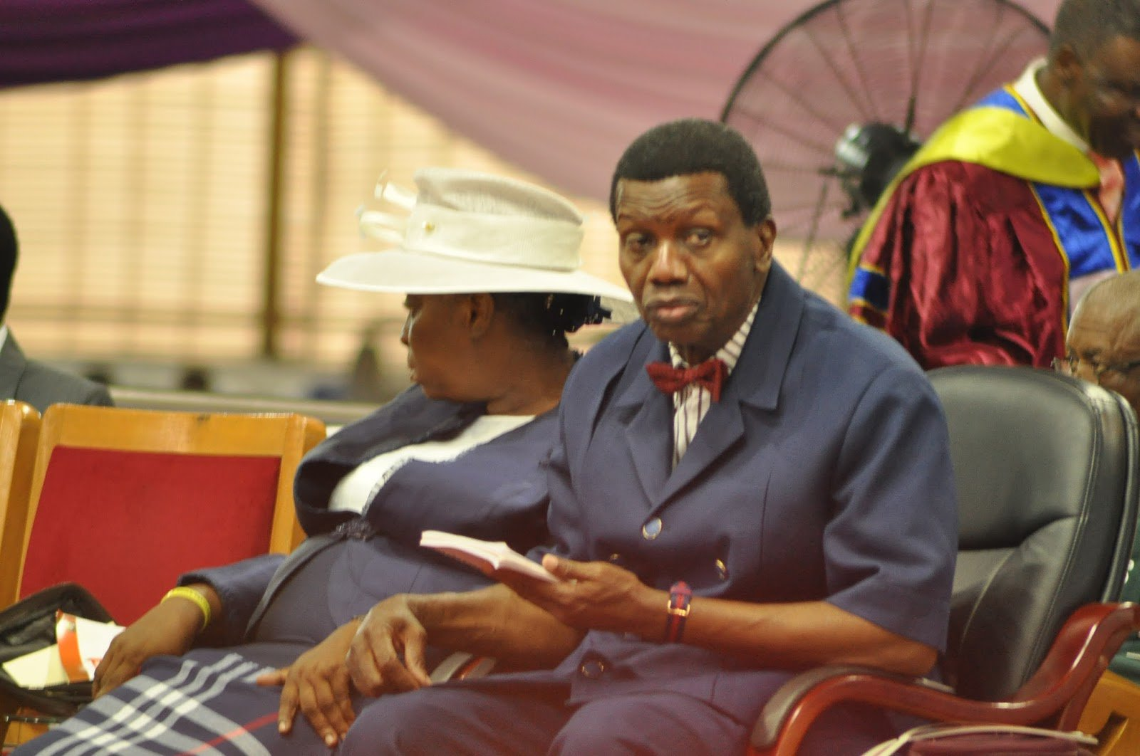 Pastor Adeboye remains the General Overseer of the ministry worldwide