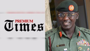 Army chief denies military invaded Premium Times office