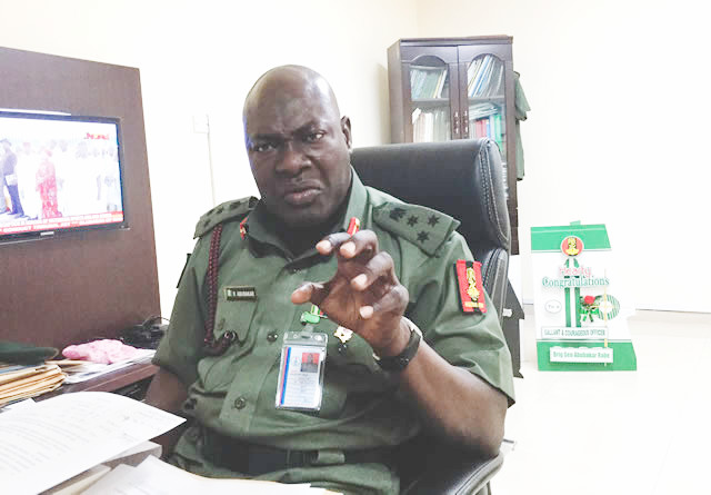 Defence information director visits Bayelsa Union of Journalists