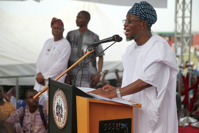 Aregbesola asks traditional rulers to mobilise subjects for Community devt
