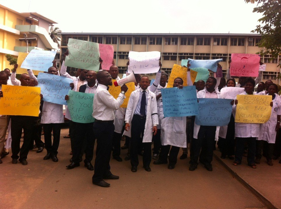 Resident doctors want sacked colleagues reinstated