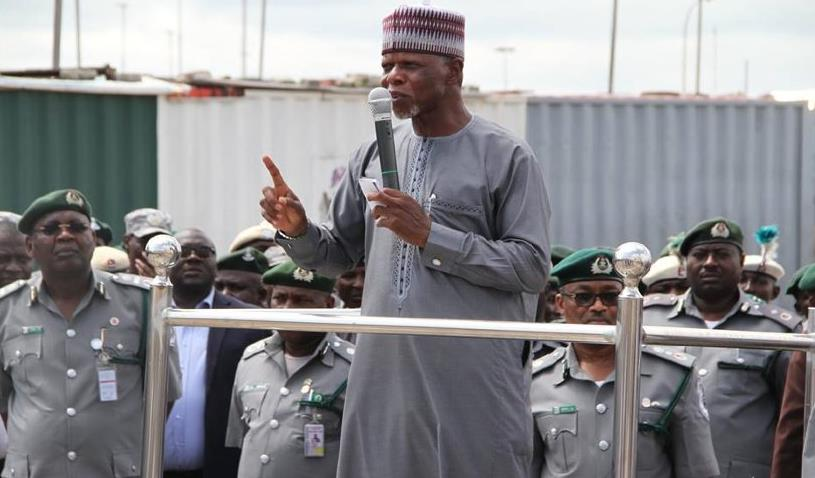 Customs warns smugglers to desist from illegal importations