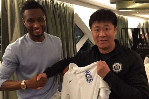 Mikel Obi signs deal with Tianjin TEDA