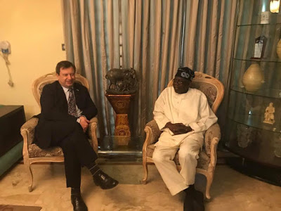 Tinubu meets with British high commissioner