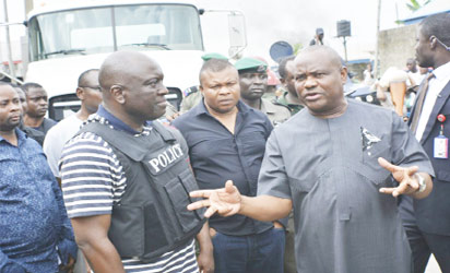 Police sack six personnel attached to Wike