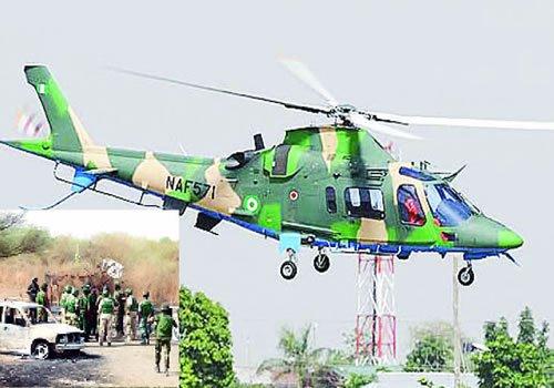 Nigerian Airforce strikes Boko Haram new hideouts in northern Borno