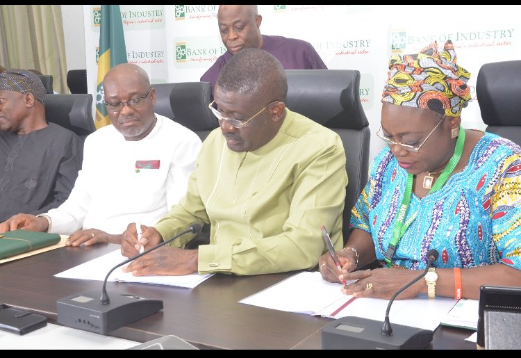 BoI, NAFDAC sign MoU to boost SMEs access to credit
