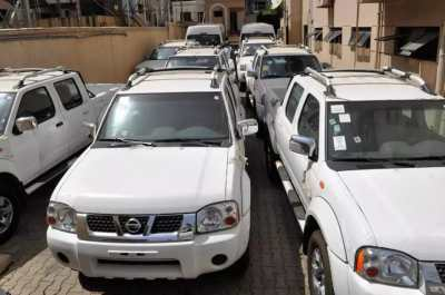 EFCC and others to spend N924m on new cars