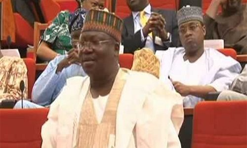 Ahmed Lawan replaces Ndume as Senate leader