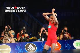 Adekuoroye resumes wrestling league with a bang