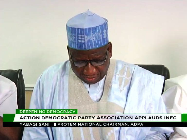 Action Democratic Party Ass. applauds INEC