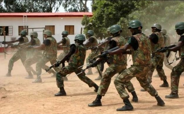 Six insurgents, three soldiers killed in gun battle