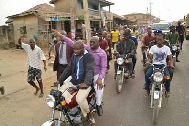 """With this economic recession, I won't ban Okada in Ekiti""- Fayose"