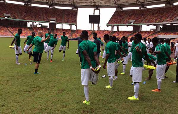 CHAN qualifiers : Home based Eagles camp resumes in Kano