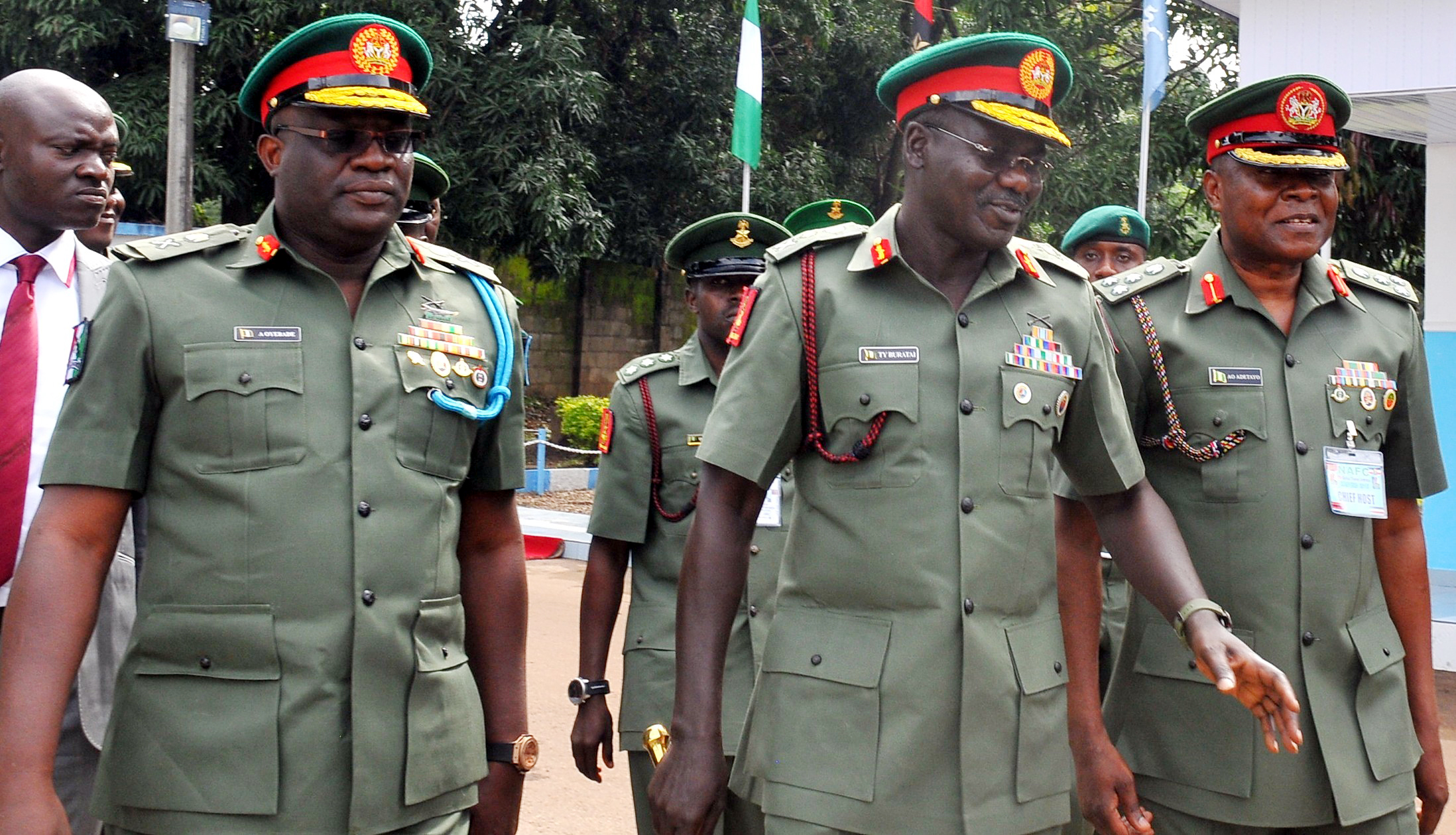 Army commander, Police boss relocate to troubled region