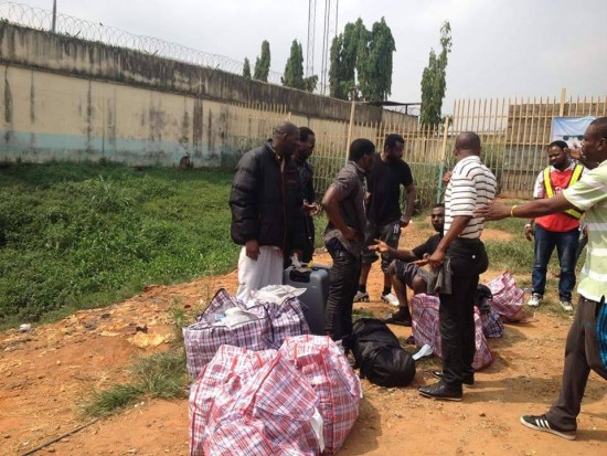 South Africa deports 97 Nigerians  for committing various offences