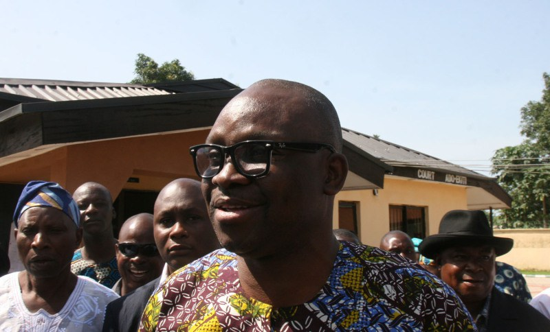 Ekiti Councillors reiterate support for Fayose