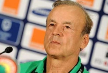 Rohr confirms Nigeria-Ghana friendly ahead of Cameroon tie