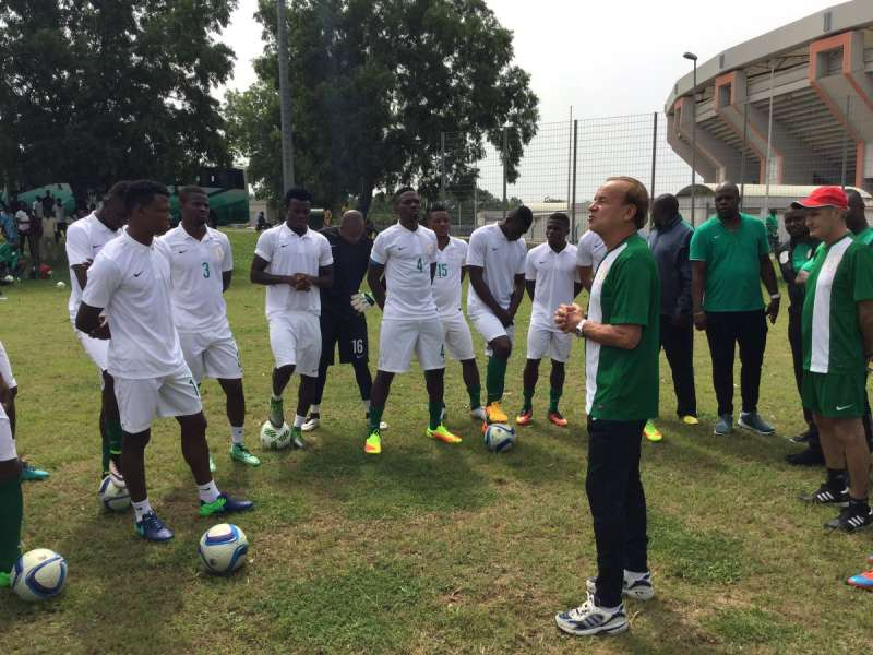 Image result for super eagles rohr