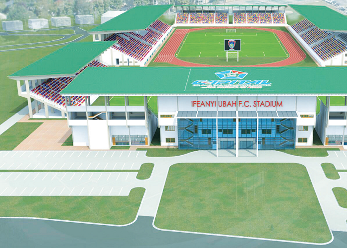 CAF inspects InfeanyiUbah stadium ahead Al-Masry clash