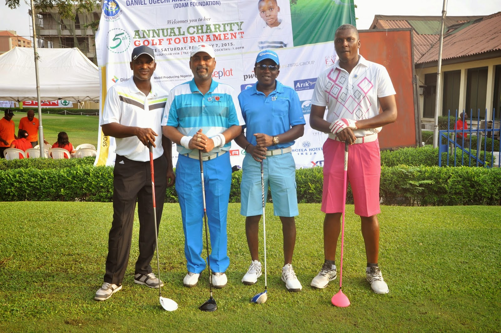 Golfers converge on Ikoyi club for charity club