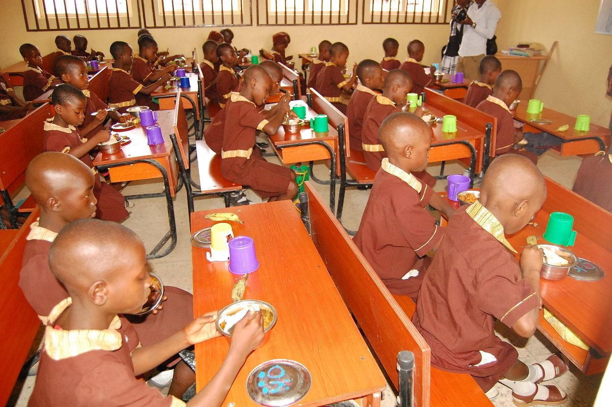 Fed Govt 'feeds one million school kids in seven states'