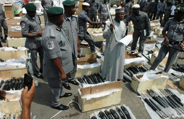 Arms seizure: Third Customs officer turns himself in for investigation