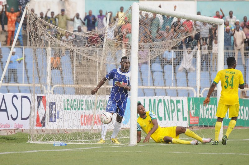NPFL: Remo Stars hold 3SC as Akwa Utd beat Abia Warriors 3-1