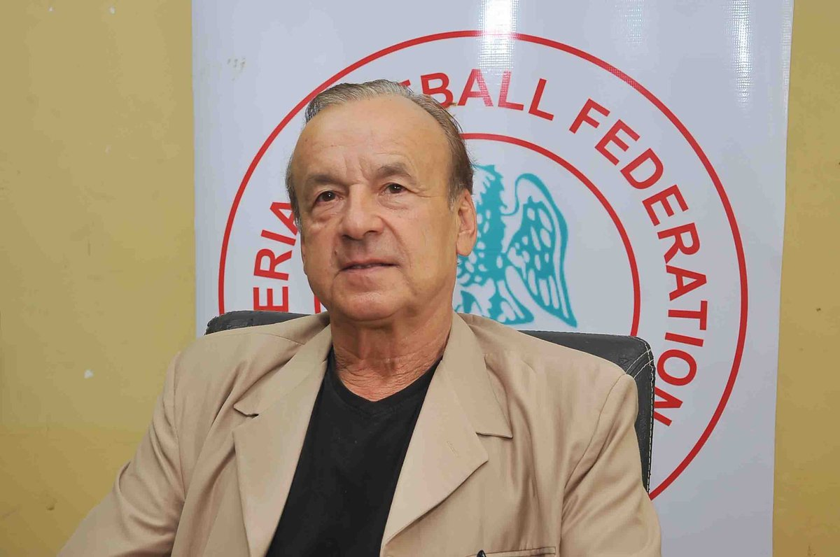 Rohr to submit Eagles list to NFF tech. committee henceforth