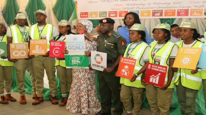 FG Commissions  NYSC/SDG Champions project in Nasarawa