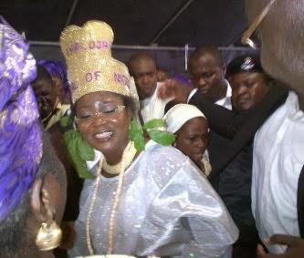 Iyaloja of Lagos crowned Iya Oba of Ogudu land