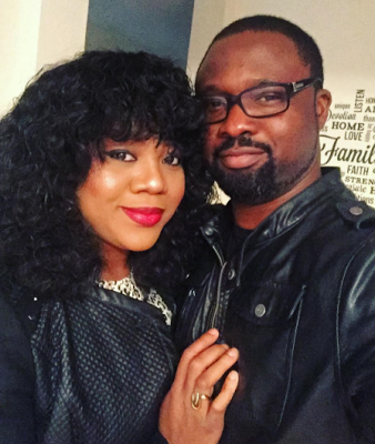Stella Damascus hubby announces their wedding on Instagram