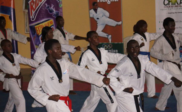 Chukwumerije Foundation hosts inaugural 2017 Taekwondo Prix Series