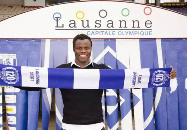 Taye Taiwo set to make Laussane Sport debut