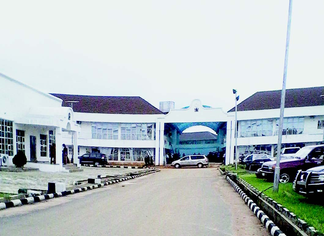 Imo lawmakers abandon Assembly Complex over collapse fears
