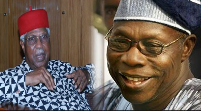 Obasanjo, Ekwueme should lead a delegation to see Buhari – Group
