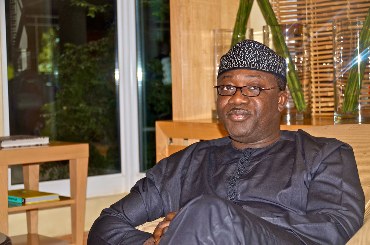 Fayemi slams N3b libel suit on Fayose's aides