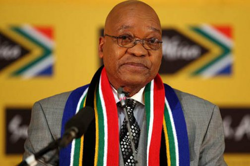 South African President Zuma condemns violence against foreigners
