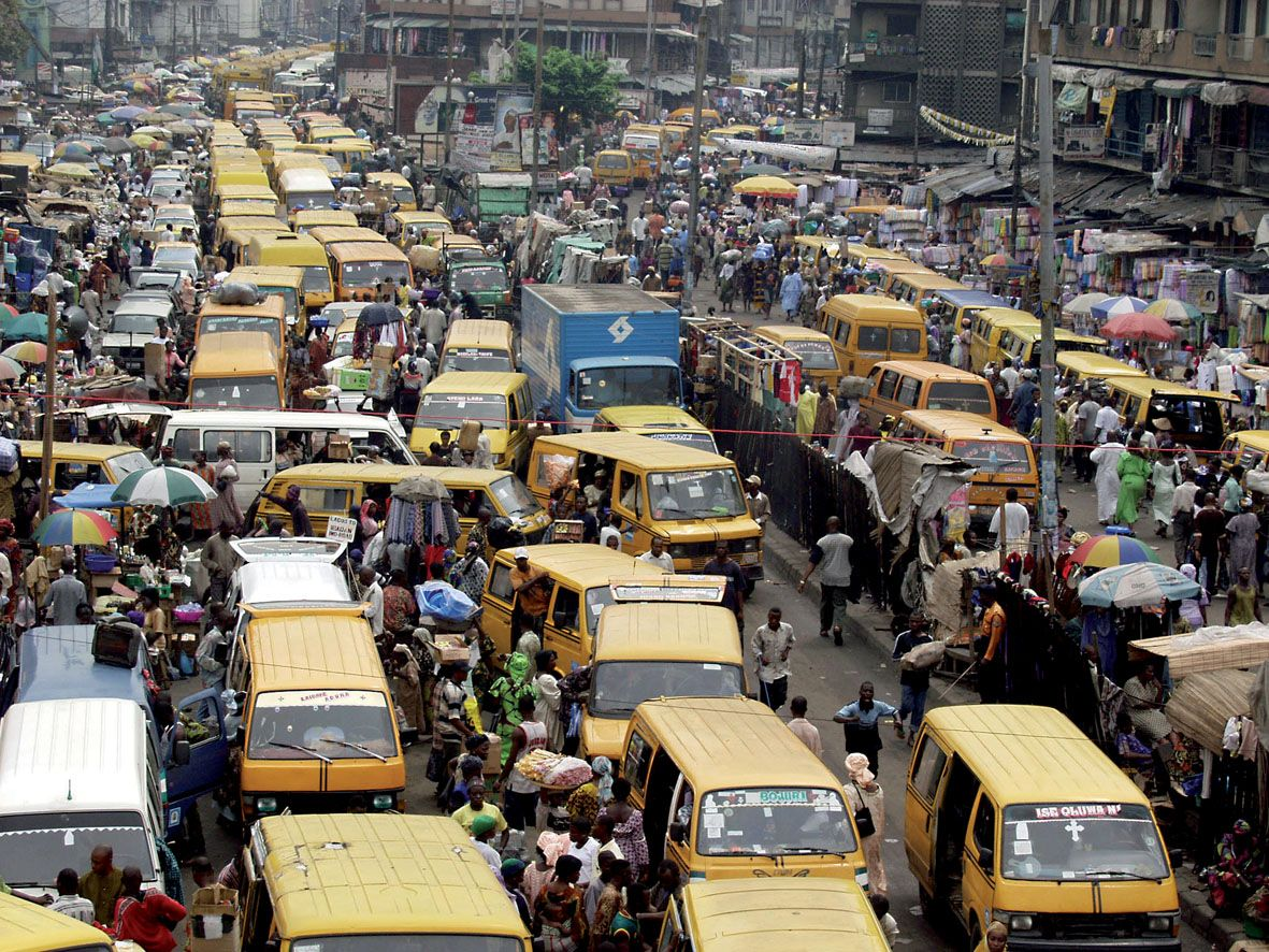 Lagos escapes top 15 world's worst traffic cities