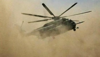 Boko Haram attacks Airforce helicopter in Gwoza