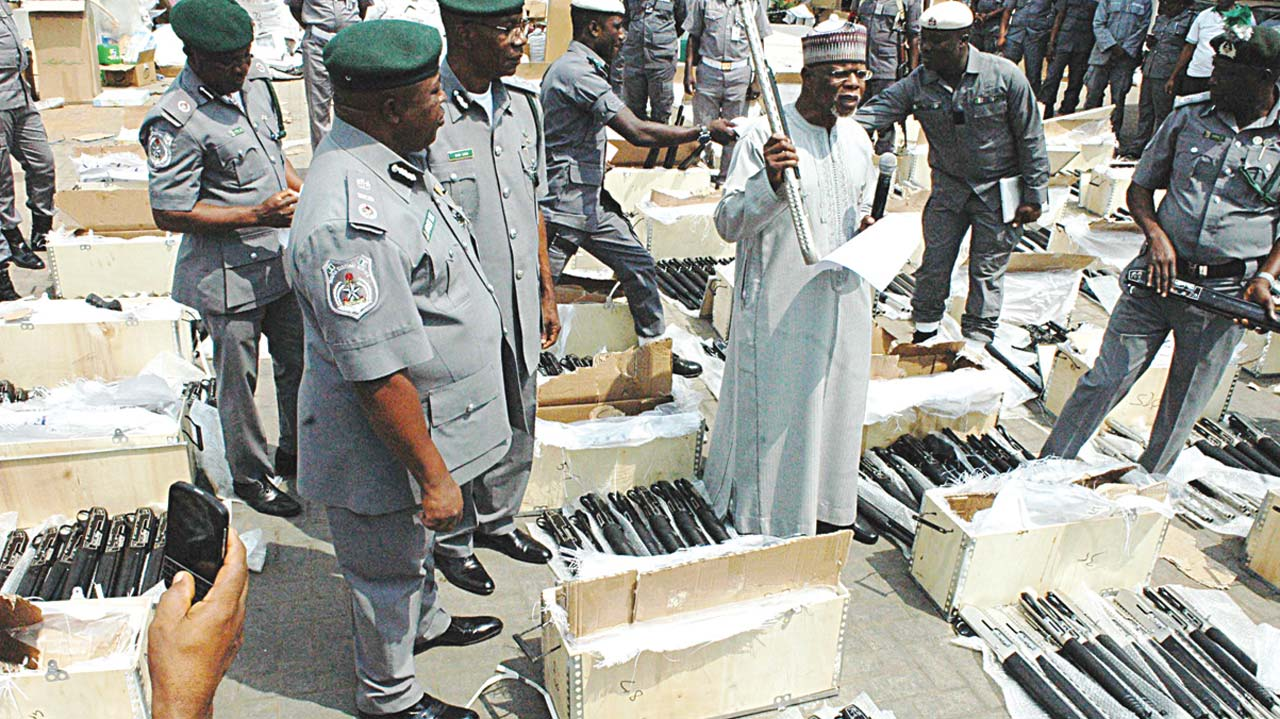 Beyond the seizure of 661 pump-action rifles