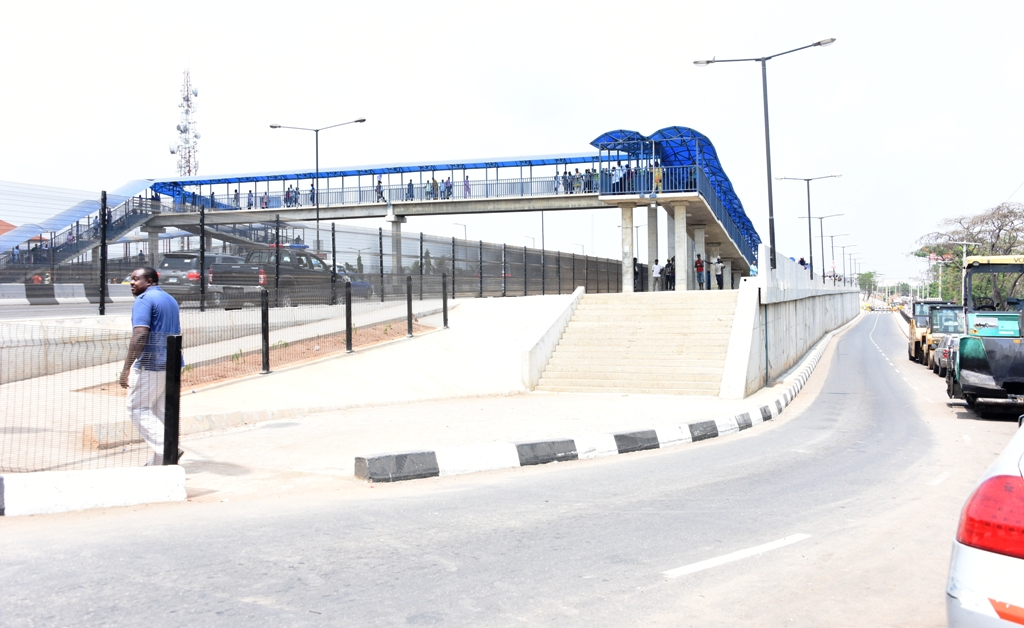 Ambode inaugurates Aboru-Abesan link bridge