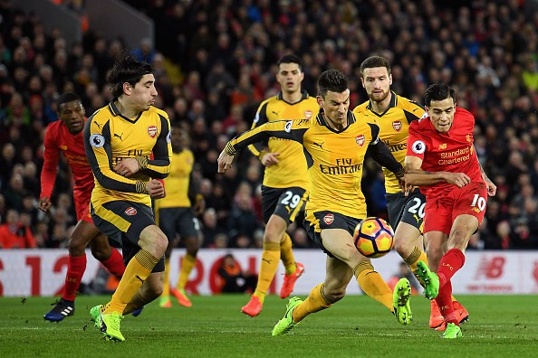 Arsenal drop out of top-four